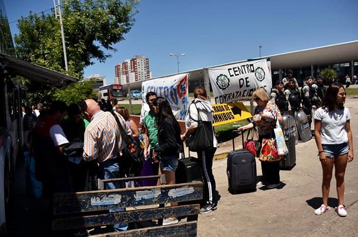 Maleteros: se venció la conciliación y esperan soluciones