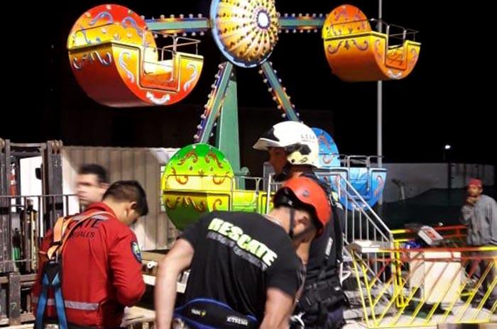 Rescatan a dos niños que habían quedado atrapados en un juego