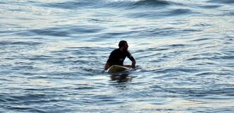 Se disputa la cuarta fecha del circuito nacional de surf