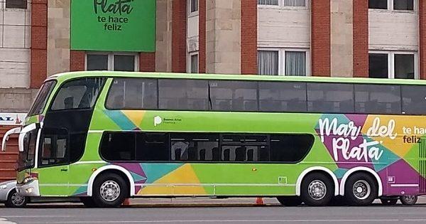Ya funciona el bus turístico por la costa de Mar del Plata