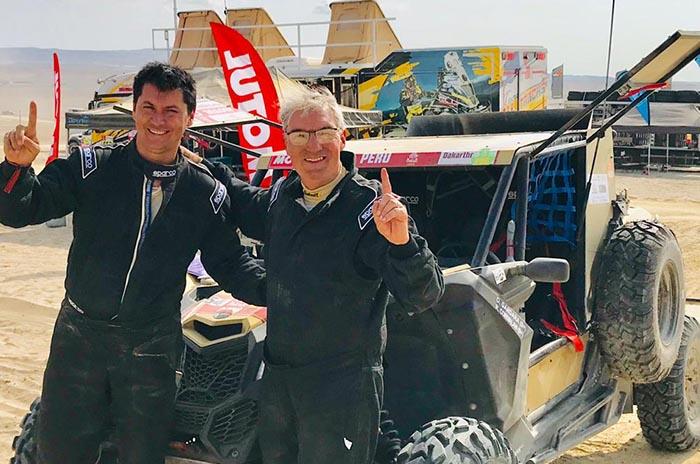 Gándara completó las primeras dos etapas del Dakar 2019