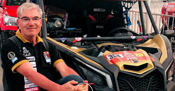 Omar Gándara finalizó segundo en el rally de Santiago del Estero