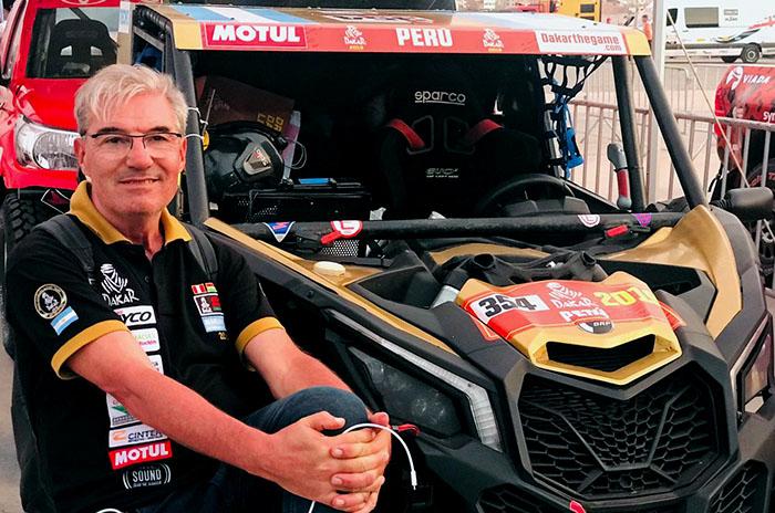 El séptimo Dakar de Gándara, con un UTV y el objetivo del podio