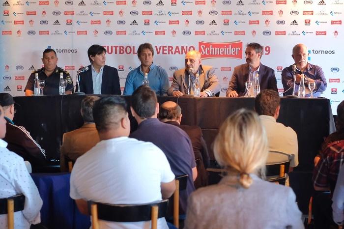 presentación fútbol de verano - prensa MGP