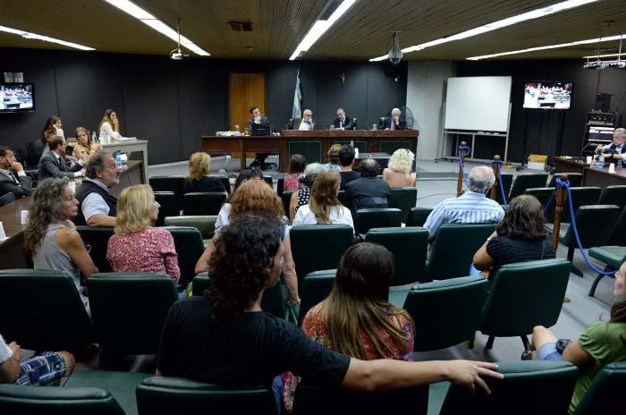 Juicio Subzona Lesa Humanidad  audiencia 6 de febrero hijos Nachman