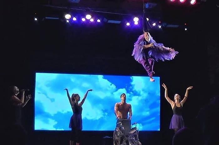 """Última función de """"Hermosamente diferentes"""" en el Teatro Colón"""