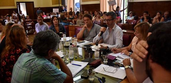 Mourelle, Vicente y Distéfano expusieron en el Concejo