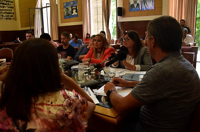 Rancho Móvil: entre críticas, Magnoler expuso en el Concejo