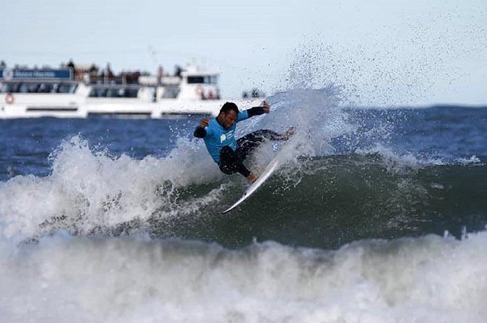 Todo listo para el arranque de la última fecha del Nacional de surf