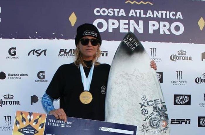 surf ASA costa atlantica open pro ornella pellizzari campeona tercera fecha nacional