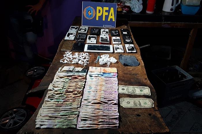 Cinco detenidos por venta de droga en el barrio Libertad