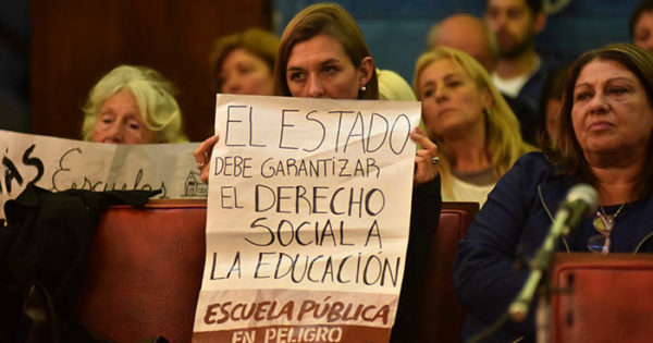 Educación: diputado de Cambiemos, contra los concejales de la UCR