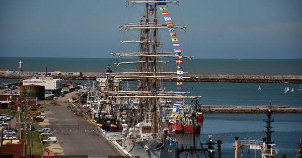 La Fragata Libertad regresa a Mar del Plata: se podrá visitar desde el 26 de enero