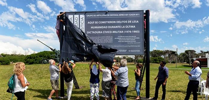 Señalizaron el GADA 601 como ex centro clandestino de detención