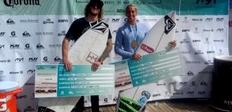 Surf: Suárez e Indurain, campeones de la cuarta fecha