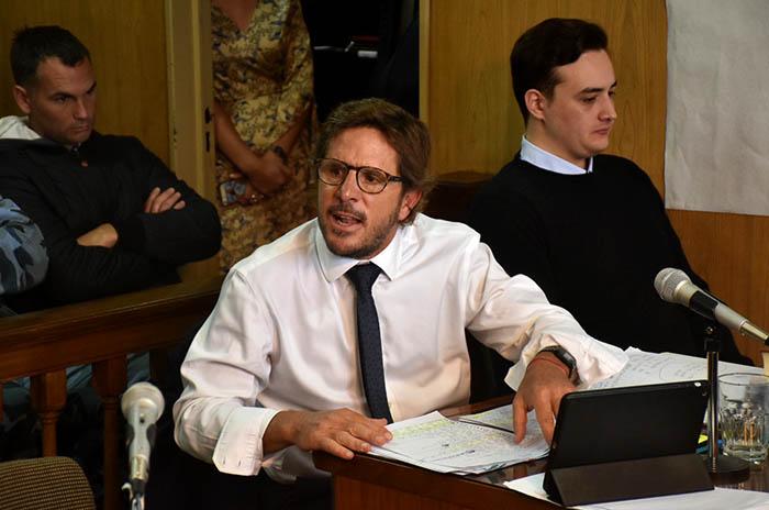 """Caso Bernaola: """"Hay que dejar en claro el apego a derecho de Sasso"""""""