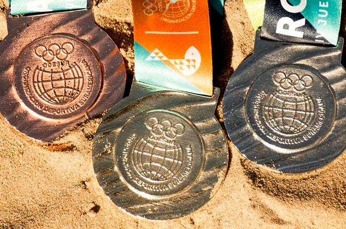 Empezaron los Juegos Sudamericanos de Playa