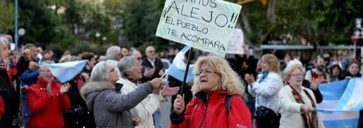 Mar del Plata tuvo su marcha en apoyo al juez Ramos Padilla