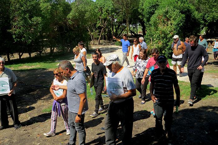 Rancho Móvil: concejales recorrieron el predio con vecinos