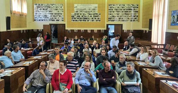 Otra vez sin Arroyo, el Concejo sesionó en el Día de la Memoria
