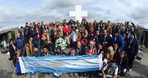 """Segundo viaje a Malvinas: """"Las familias son ejemplo de coraje"""""""
