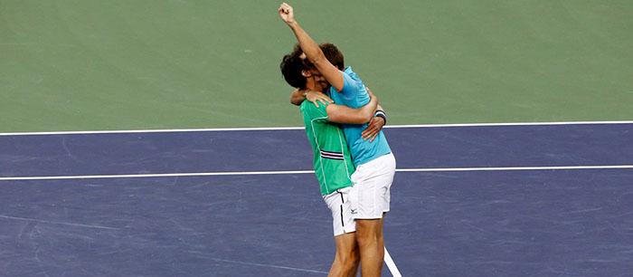 Zeballos ganó un título histórico en el dobles de Indian Wells