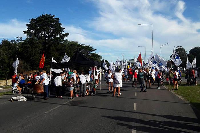 Contra el ajuste, el Frente Milagro Sala cortó la Autovía 2