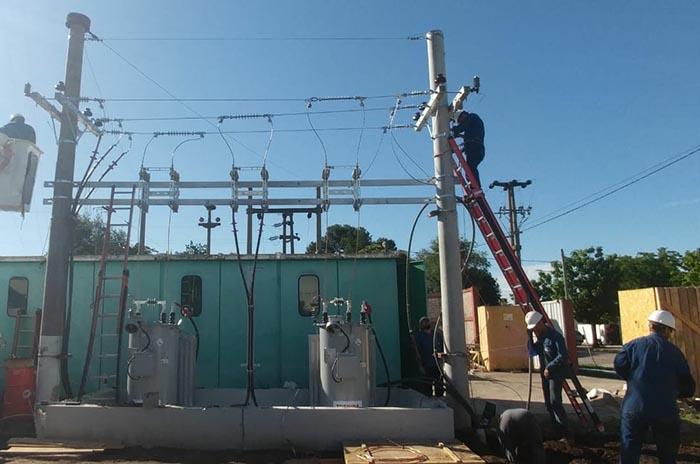 Miramar: más energía para el Parque Industrial