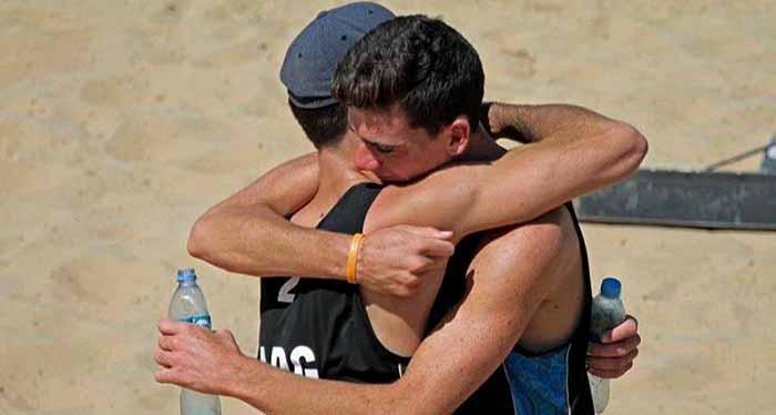 Juegos Sudamericanos de Playa: primer día, con acción marplatense