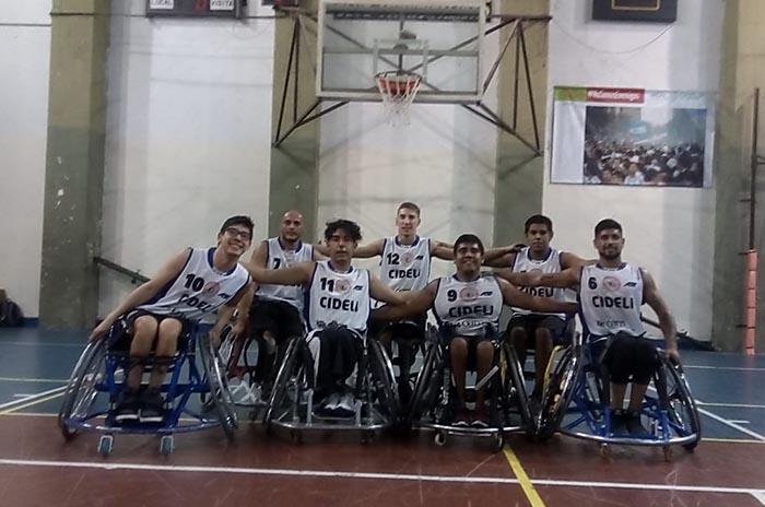 Cideli quedó a un paso de jugar la Superliga de básquet adaptado