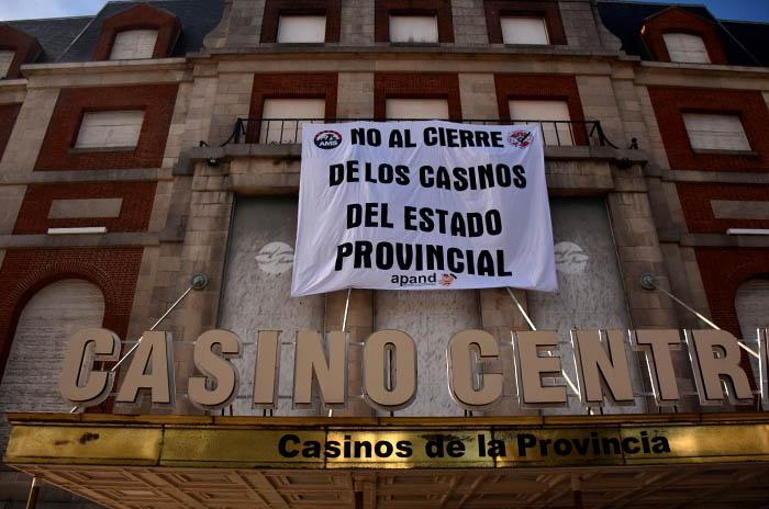 Aplazaron el cierre de los casinos de Necochea y Mar de Ajó