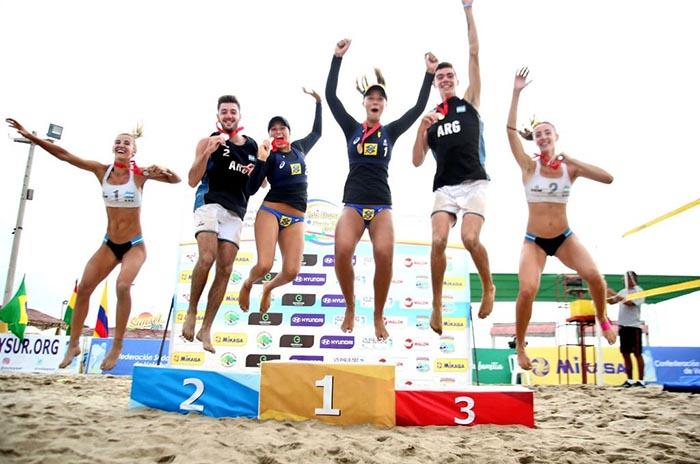 Vóley playa: otro oro para Mauro Zelayeta