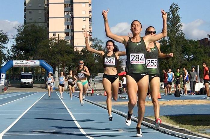 Nuevos títulos para el atletismo marplatense en el nacional