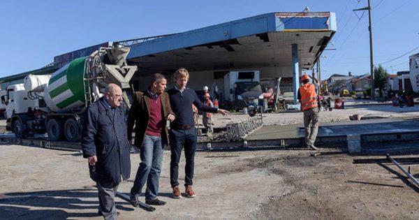 Avanzan obras de asfalto en la zona de Vértiz y Edison