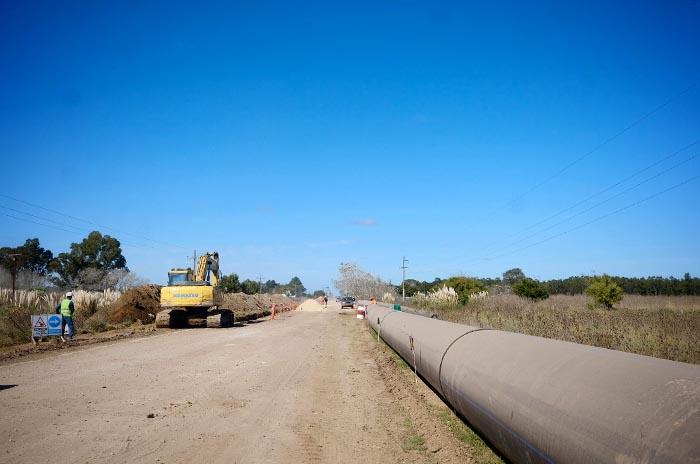 Acueducto del Oeste: el progreso de las obras alcanza el 43%