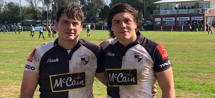 Martín e Ignacio De Siena, padre e hijo, juntos en Sporting