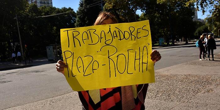 """Plaza Rocha: """"Arroyo nos obliga a tirar mantas"""""""