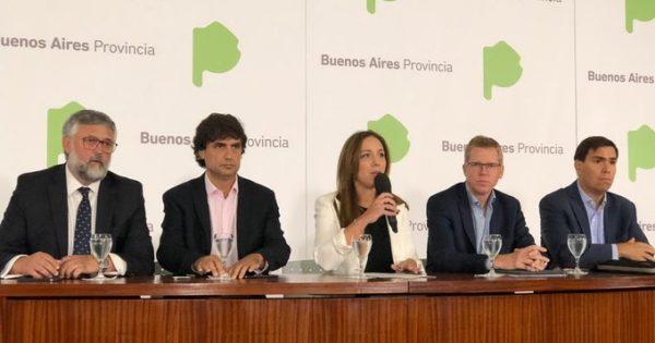 """El paquete de medidas de Vidal ante la crisis: """"Nos hacemos cargo"""""""