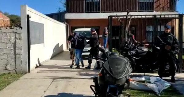"""Operativo contra el """"clan Costa"""": diez detenidos por venta de drogas"""