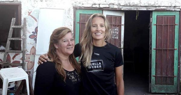 Ana Gallay, entre el vóley y la solidaridad