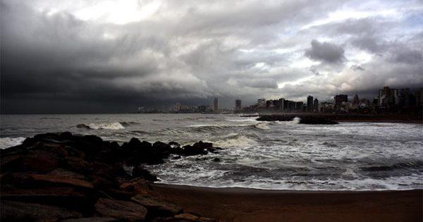Por lluvias y tormentas fuertes, nuevo alerta meteorológico en Mar del Plata