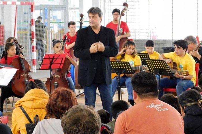 Primer encuentro de orquestas y bandas juveniles e infantiles