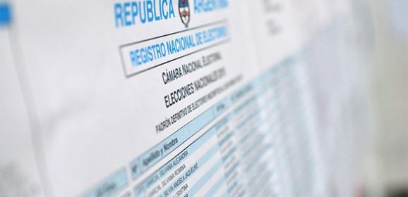Elecciones 2019: ya se puede consultar el padrón provisorio