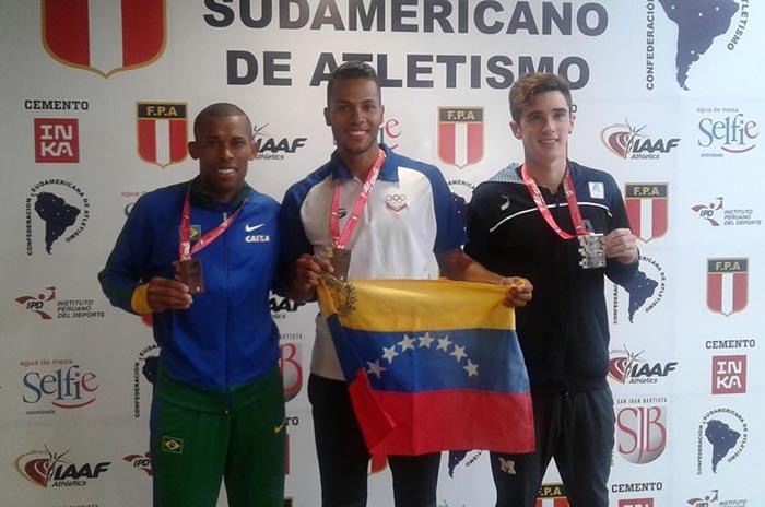 Atletismo: primeras medallas para marplatenses en el Sudamericano