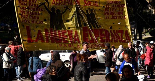 Una nueva protesta de cooperativas por falta de trabajo