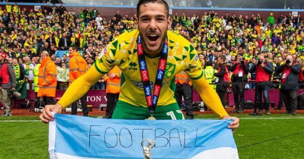 más popular muy bonito Precio reducido Emiliano Buendía, campeón de la segunda división inglesa ...