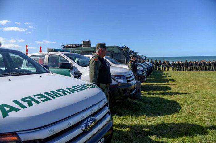 """Gendarmería en Mar del Plata: """"Es una decisión estratégica"""""""