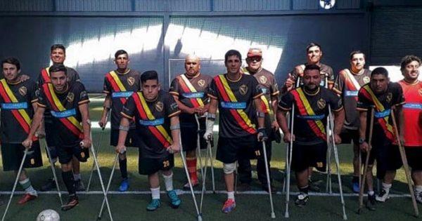 """""""Real Voluntad"""" jugará la Liga Nacional de Fútbol de Amputados"""