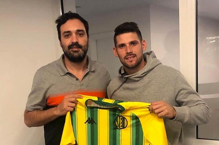 Aldosivi contrató al defensor central paraguayo Marcos Miers