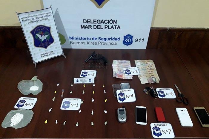 Un detenido por venta de cocaína en el barrio Fortunato de la Plaza